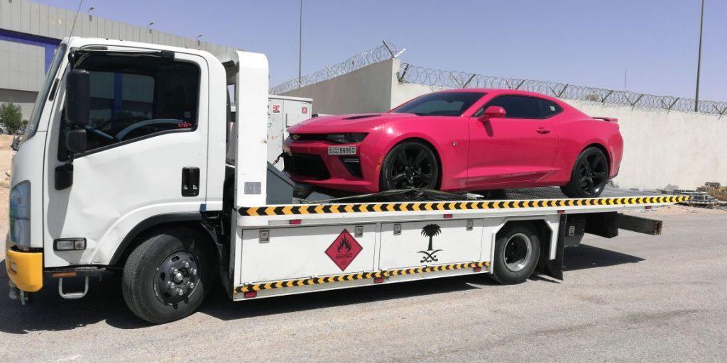 خدمة نقل السيارات في الرياض